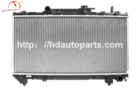 What material is the passenger car radiator on the market?