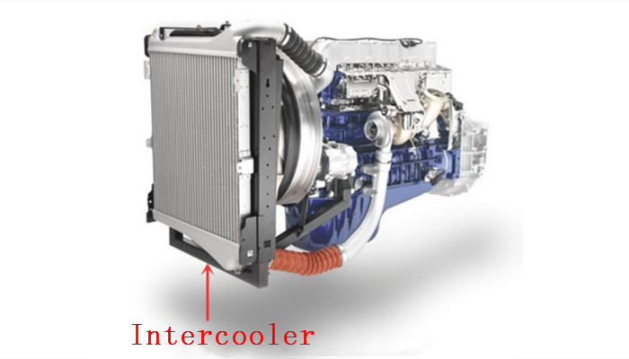 What is an intercooler?